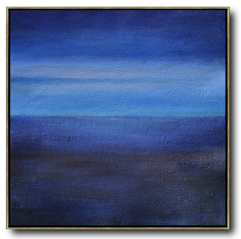 Oversized Abstract Landscape Painting Large Contemporary Art