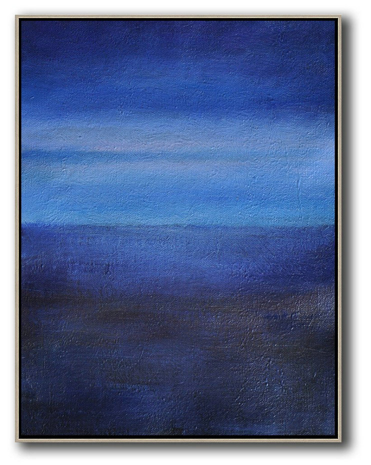 Oversized Abstract Landscape Painting Abstract Art Decor